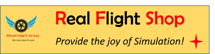 Real Flight Shop : Your first source of Flight Simulation addon! We bring you the joy of Simulation!