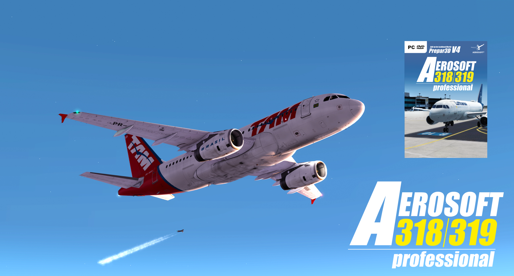 Aerosoft A318/A319 Professional available now!