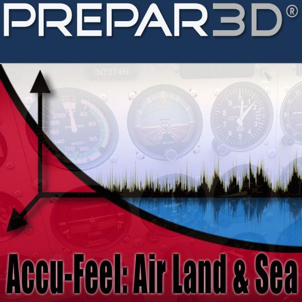 A2A Simulations Accu-Feel v 2 Air, Land & Sea (P3Dv4) Professional