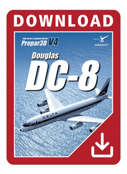 Douglas DC-8 for P3D V4